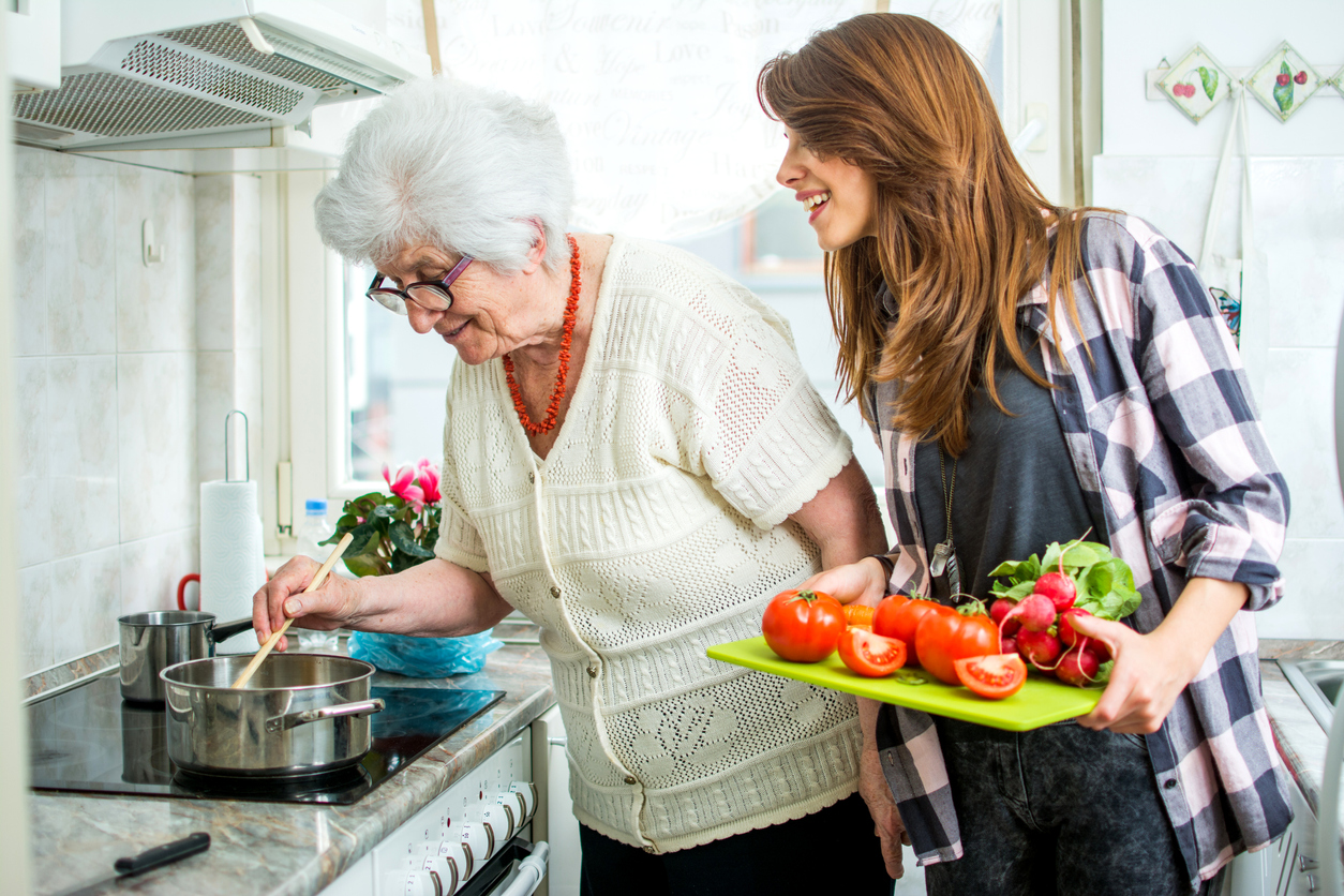 Home help for the elderly