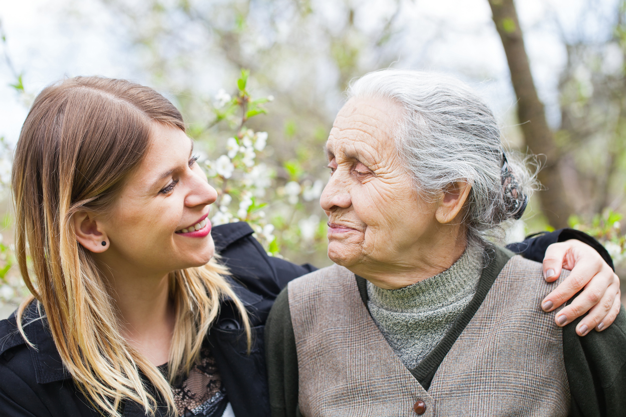 Communicating with seniors who have dementia